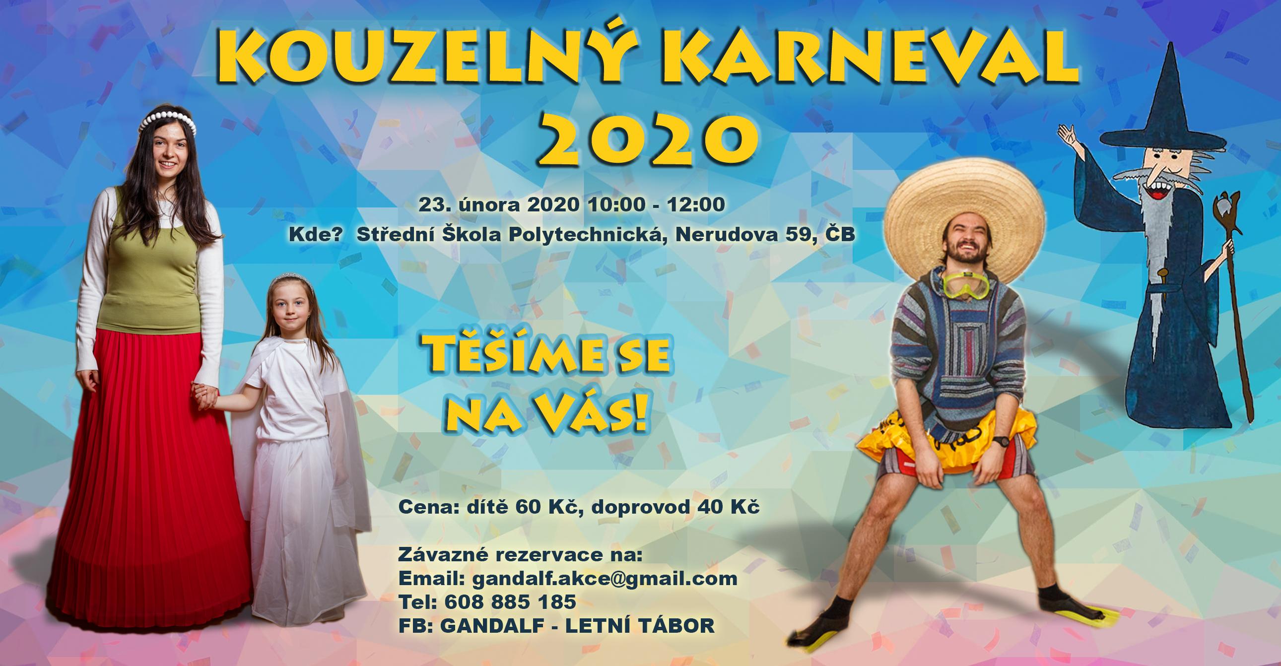 Gandalfí karneval 2020 @ Střední škola polytechnická
